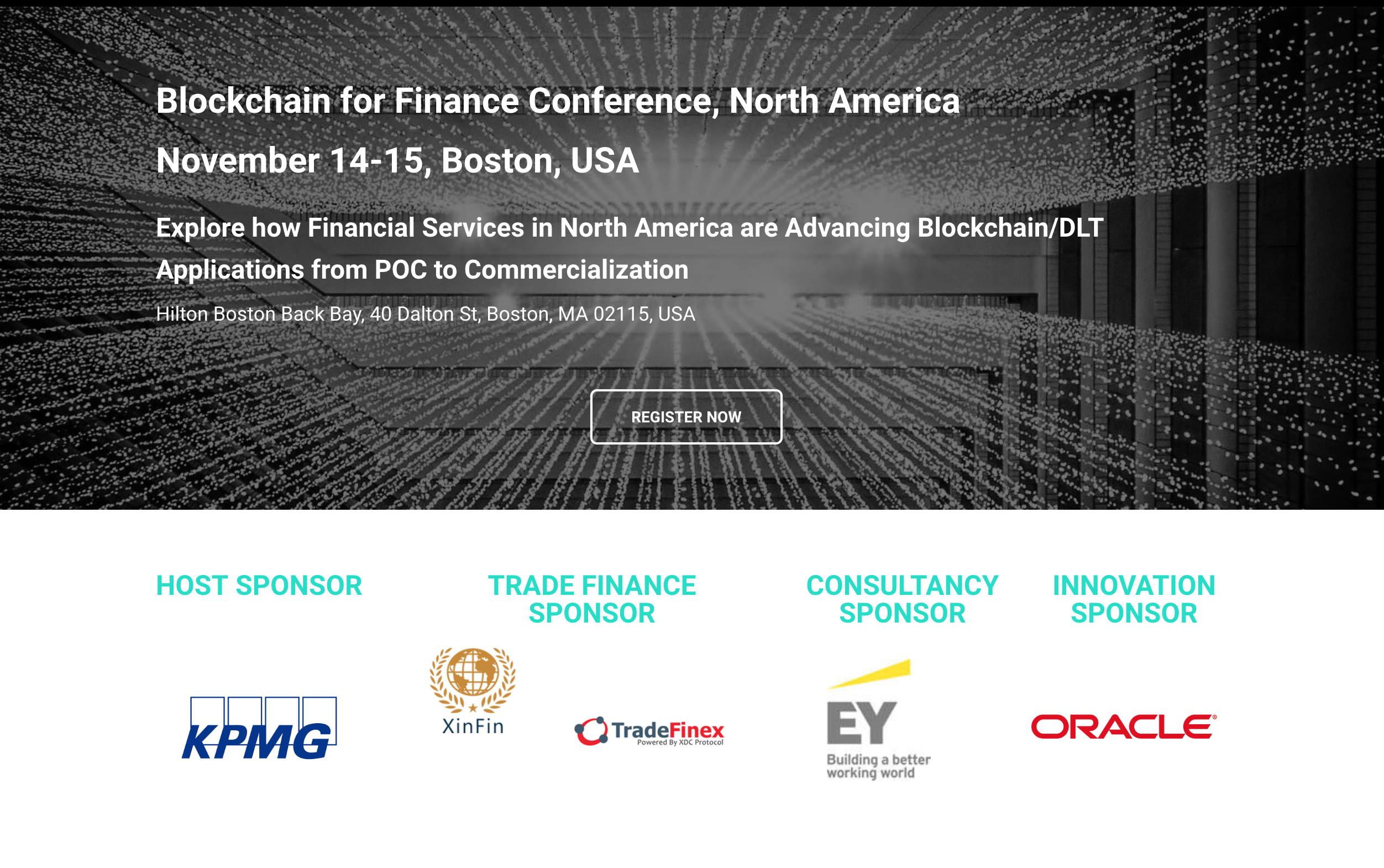 Conference In Boston Wednesday November >> Peernova Ceo To Speak At Blockchain For Finance Conference